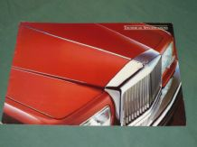 BENTLEY February 1983 Tech Spec Sales Brochure